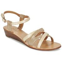 Schoenen Dames Sandalen / Open schoenen Mellow Yellow VALOU Taupe