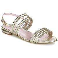 Schoenen Dames Sandalen / Open schoenen Mellow Yellow VEO Goud