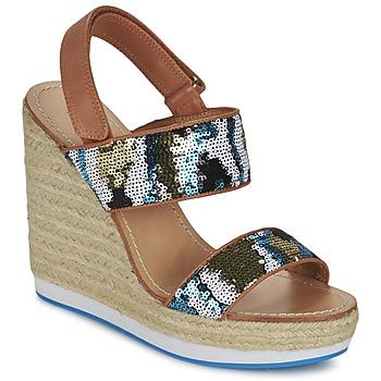 Schoenen Dames Sandalen / Open schoenen Mellow Yellow VABLISS Blauw