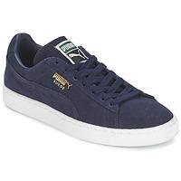 Schoenen Lage sneakers Puma SUEDE CLASSIC + Marine