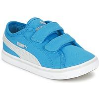 Schoenen Kinderen Lage sneakers Puma ELSU V2 CV V KIDS Blauw / Grijs