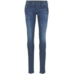 Textiel Dames Skinny jeans Diesel GRUPEE Blauw / 0837j