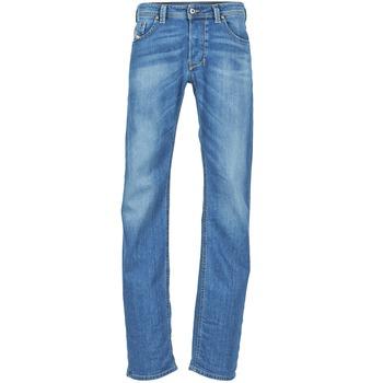 Textiel Heren Straight jeans Diesel LARKEE Blauw