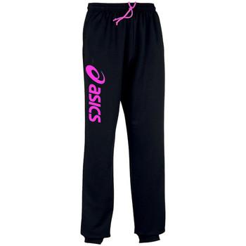 Textiel Trainingsbroeken Asics Sigma-Pantalon Black/Flash Pink