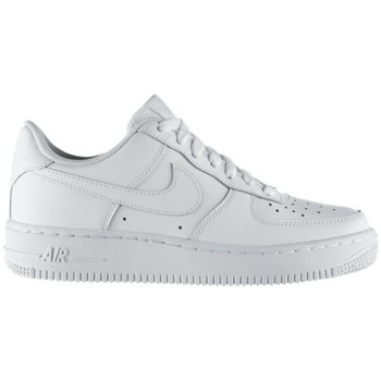 Schoenen Kinderen Lage sneakers Nike AIR FORCE LOW GS BLANC
