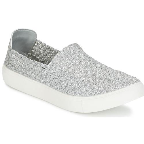 Schoenen Dames Lage sneakers Moony Mood ESMINE Zilver