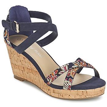 Schoenen Dames Sandalen / Open schoenen Moony Mood EMARLENE Marine