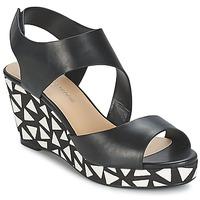 Schoenen Dames Sandalen / Open schoenen Moony Mood EPALINE Zwart