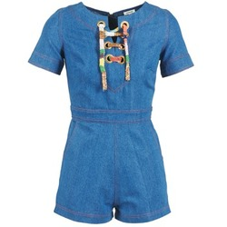 Textiel Dames Jumpsuites / Tuinbroeken Manoush LACET Blauw / Jeans