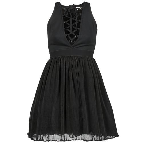 Textiel Dames Korte jurken Manoush MARILACET Zwart