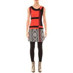 Textiel Dames Korte jurken Bamboo's Fashion Robe BW648 rouge Rood