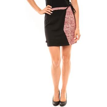 Textiel Dames Rokken Bamboo's Fashion Jupe BW668 noir Zwart