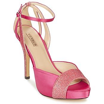 Schoenen Dames Sandalen / Open schoenen Menbur ARENALES Roze