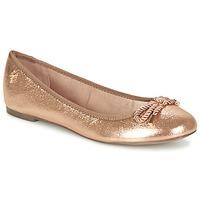 Schoenen Dames Ballerina's Menbur ZINNA Roze / Goud