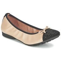 Schoenen Dames Ballerina's Mam'Zelle NUPO Beige / Zwart