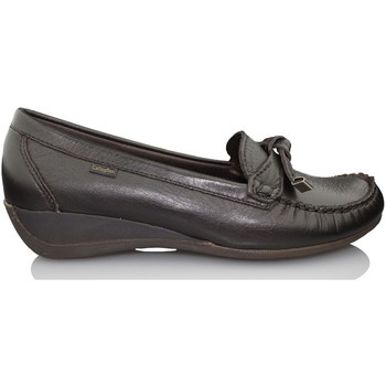Schoenen Dames Mocassins CallagHan AVE MOCASIN ABU W MARRON