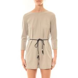 Textiel Dames Jumpsuites / Tuinbroeken Nina Rocca Combi-Short Léa beige Beige