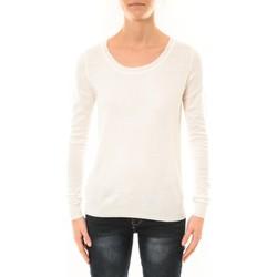 Textiel Dames Truien Nina Rocca Pull MC7033 blanc Wit