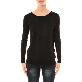 Textiel Dames Truien Nina Rocca Pull MC7033 noir Zwart
