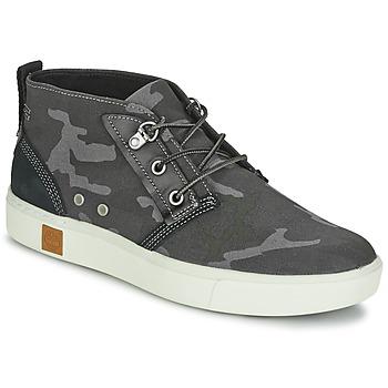 Schoenen Heren Hoge sneakers Timberland AMHERST CHUKKA Grijs / Camouflage / Zwart