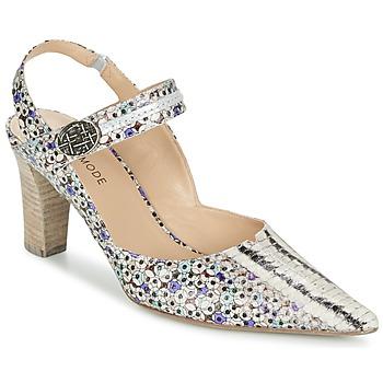 Schoenen Dames Sandalen / Open schoenen France Mode NATIVE Multi / Blauw