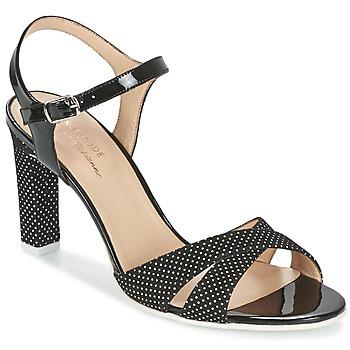 Schoenen Dames Sandalen / Open schoenen France Mode ZEN Zwart