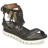 Schoenen Dames Sandalen / Open schoenen Airstep / A.S.98 FLOOD Zwart