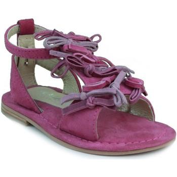 Schoenen Meisjes Sandalen / Open schoenen Oca Loca OCA LOCA VALENCIA TRICOLOR FUXIA