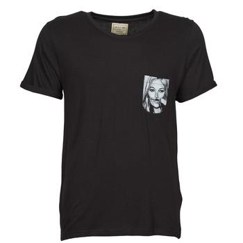 Textiel Heren T-shirts korte mouwen Eleven Paris KMPOCK Zwart