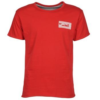 Textiel Heren T-shirts korte mouwen Wati B WATI CREW Rood