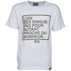 Textiel Heren T-shirts korte mouwen Wati B LOIN Wit