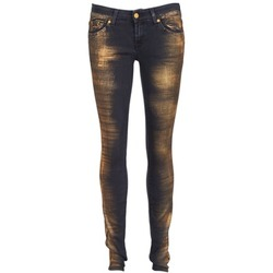 Textiel Dames Skinny jeans 7 for all Mankind OLIVYA Blauw