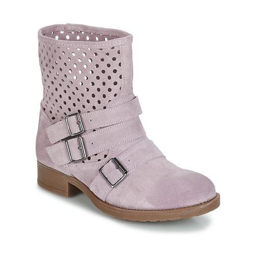 Schoenen Dames Laarzen Casual Attitude DISNELLE Roze