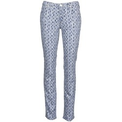 Textiel Dames Straight jeans Lee MARION STRAIGHT Print / Blauw