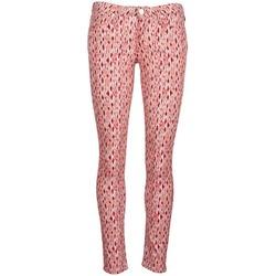 Textiel Dames Skinny jeans Lee SCARLETT Rood / Oranje