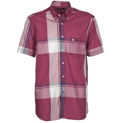 Textiel Heren Overhemden korte mouwen Pierre Cardin 538536226-860 Mauve / Violet