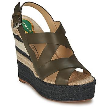 Schoenen Dames Sandalen / Open schoenen Etro 3948 Bruin