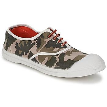 Schoenen Dames Lage sneakers Bensimon TENNIS CAMOFLUO Camouflage