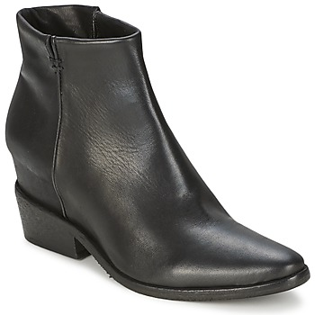 Schoenen Dames Laarzen Strategia BLOCUSSON Zwart