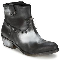 Schoenen Dames Laarzen Strategia SFUGGO Zwart / Zilver