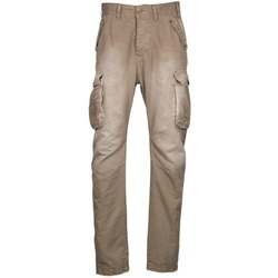 Textiel Heren Cargobroek Freeman T.Porter PUNACHO COTTON GAB CHOCOLATE CHIP Bruin / Beige