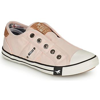 Schoenen Meisjes Lage sneakers Mustang SHAYAN Roze