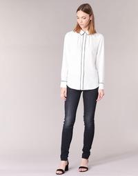 Textiel Dames Skinny Jeans G-Star Raw LYNN MID SKINNY Denim