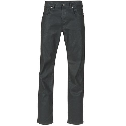 Textiel Heren Straight jeans G-Star Raw 3301 STRAIGHT Zwart