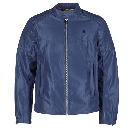 Textiel Heren Wind jackets G-Star Raw ATTACC GP JKT Marine
