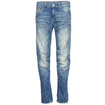 Textiel Dames Straight jeans G-Star Raw 5620 3D LOW BOYFRIEND WMN Medium / Vintage / Scatter / Denim