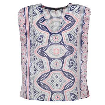 Textiel Dames Tops / Blousjes Antik Batik JAGGA Blauw / Multi
