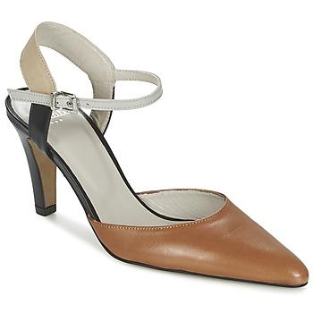 Schoenen Dames Sandalen / Open schoenen Perlato ANTELLA Cognac