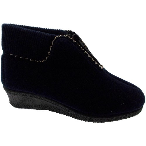 Schoenen Dames Enkellaarzen Davema DAV558bl blu