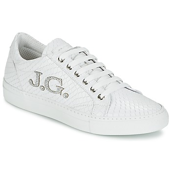 Schoenen Dames Lage sneakers John Galliano 7977 Wit